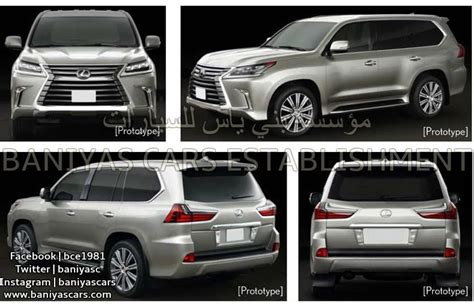 toyota lexus 570 2017 2017 toyota land cruiser and lexus lx facelift leaked in