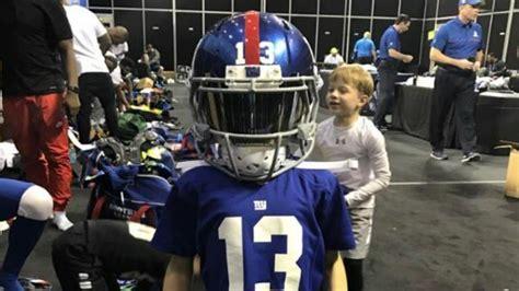 drew brees son wears odell beckham jrs pro bowl