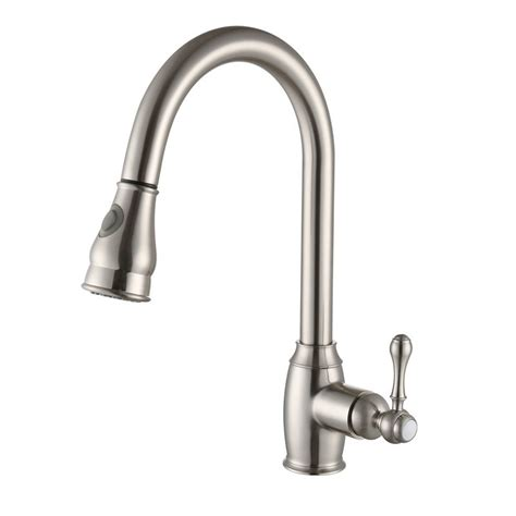 brushed bronze kitchen faucet rolya rubbed bronze nickle brushed pull out kitchen