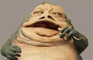 Jabba the Hutt Eating Frogs
