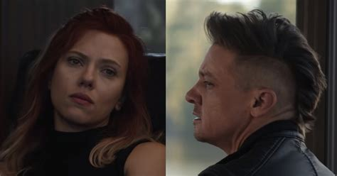what going with black widow hawkeye hair the