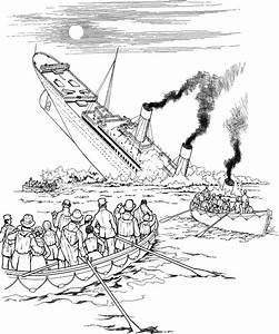 Sinking Boat Drawing