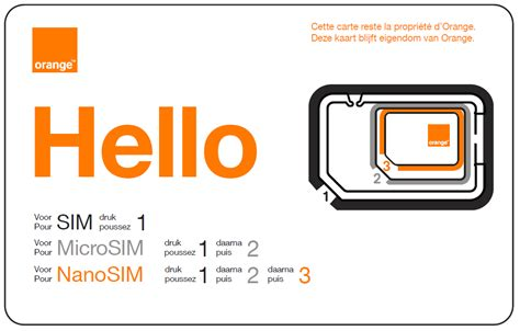 si鑒e social d orange nouvelle carte sim