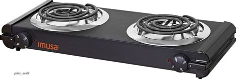 Electric Double Burner Hot Plate Heating Cooking Stove