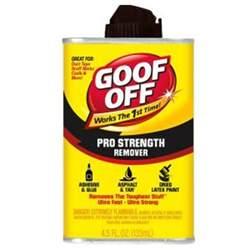 goof off 4 5 oz professional strength remover fg650 the