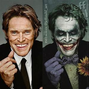 Willem Dafoe As The Joker? New Fan Art Ponders What Could Be