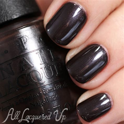 love is hot and coal opi opi holiday 2014 gwen stefani quot the darks quot swatches all