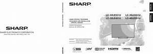 Sharp Lc 32le451u User Manual Lcd Tv Manuals And Guides