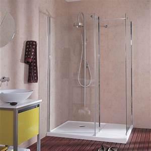 Revetement Douche Italienne : salle de bain douche classique l 39 italienne ou ~ Edinachiropracticcenter.com Idées de Décoration
