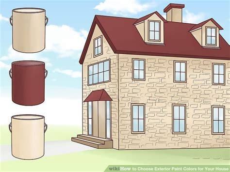 3 ways to choose exterior paint colors for your house wikihow