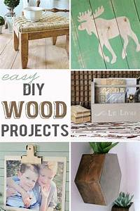 Easy, Diy, Wood, Projects