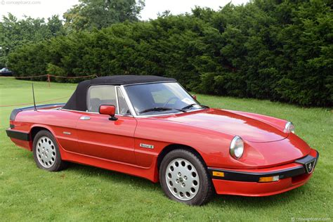 1988 Alfa Romeo Spider 1988 alfa romeo spider photos informations articles