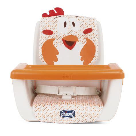 chaise de table chicco réhausseur de table mode fancy chicken de chicco