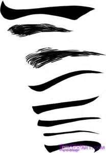 How to Draw Anime Girl Eyebrows Drawing