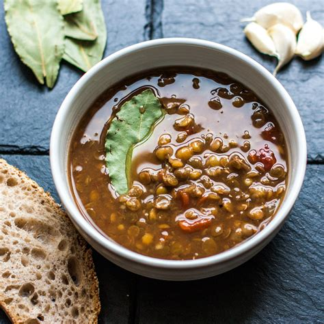 Traditional Lentil Soup  The Mediterranean Dietitian