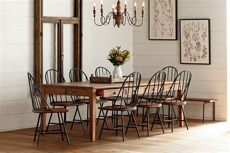 farmhouse kitchen table sets rooms to go dining kitchen magnolia home