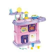 Amazoncom Fisher Price Pink Grow With Me Kitchen Toys