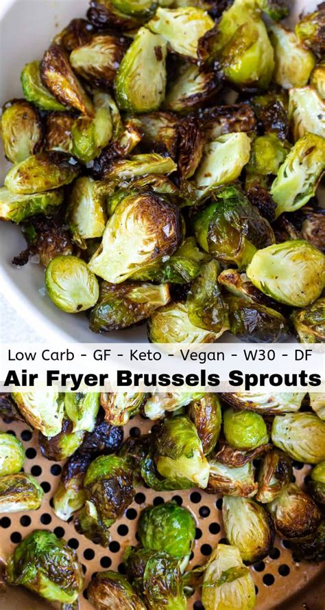 sprouts fryer air brussels recipes crispy roasted recipe side fried airfryer minutes dish dinner these