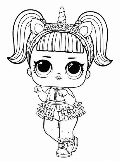 Lol Coloring Pages Colouring Dolls Printable Mycoloring