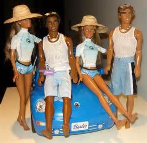 Little Boy Barbie Twins