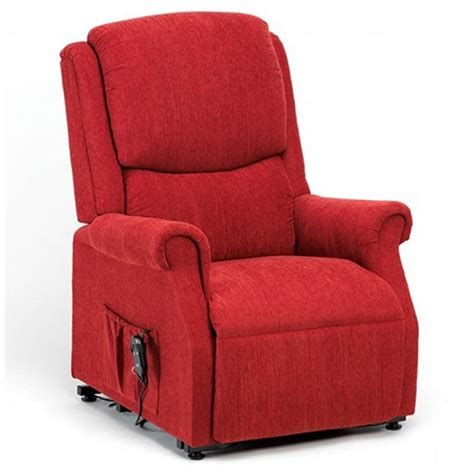 Indiana Rise And Recline Chair  Berry  Riser Recliner