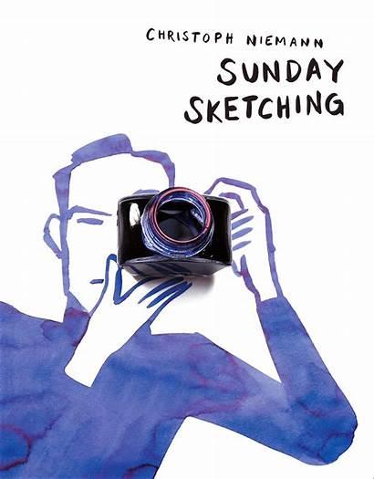 Niemann Christoph Sunday Sketching Artist Wired Illustrations