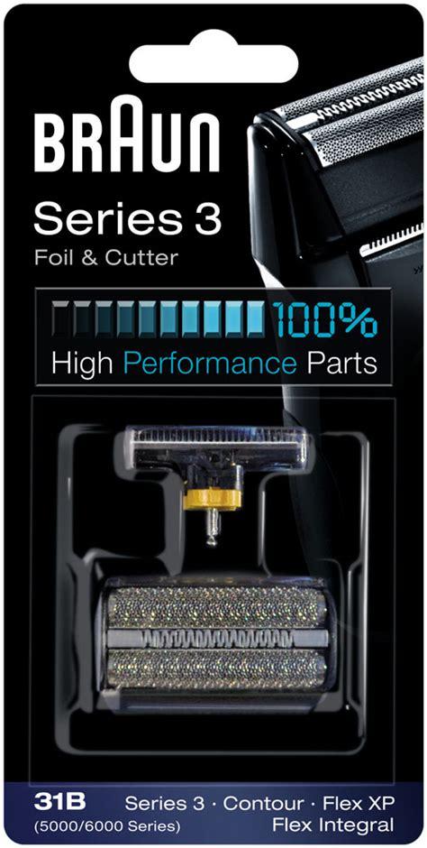 grille rasoir braun serie 3 31b grille et couteaux rasoir braun series 3 5000 6000