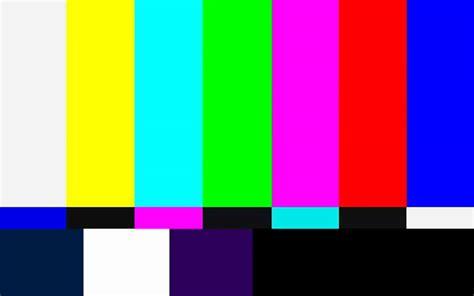 Colour Bar Um Importante Teste Para Saber A Quantas Anda