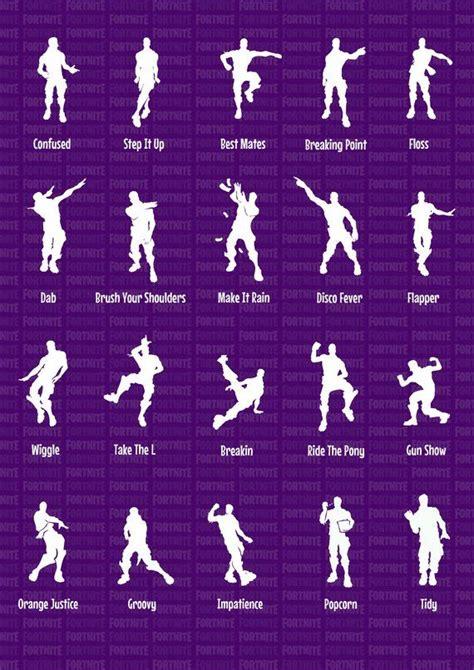 fortnite bataille royale drole emoticones danses danse