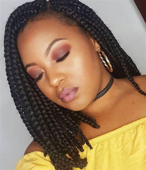dashing box braids bob hairstyles  women