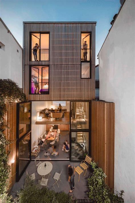 gallery   skinny houses   narrow footprint   broad impact