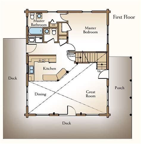 cabin floor plans with loft inspiration 25 best ideas about cabin floor plans on