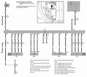 J431 Headlamp Range Control Module Setup