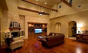 Tuscan Style Decorative Pillows Ranch Style Living Room