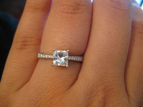 17 Carat Diamond Ring Princess  Wedding, Promise. Thin Engagement Rings. Tops Rings. Cheap Rings. Matte Engagement Rings. Pastel Wedding Rings. Geeky Rings. Wife John Legend Wedding Rings. Unique Engagement Single Stone Wedding Rings
