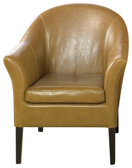 camel leather club chair midcentury armchairs and