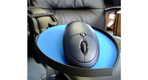 dexterity chair mounted mouse platform the human solution