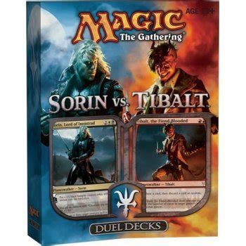 Magic The Gathering Duel Decks Sorin Vs Tibalt Import