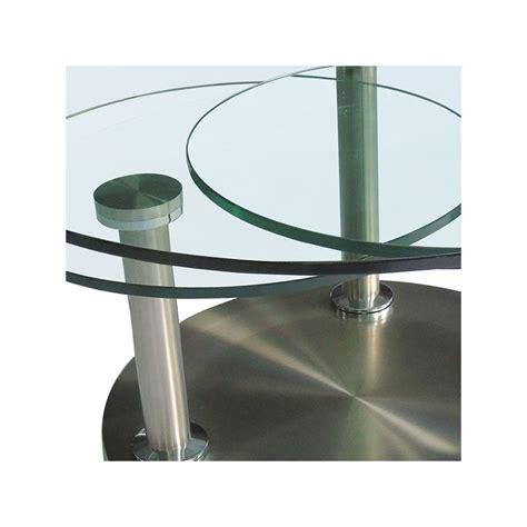 table cuisine verre trempé table basse articulée verre et métal trygo univers salon