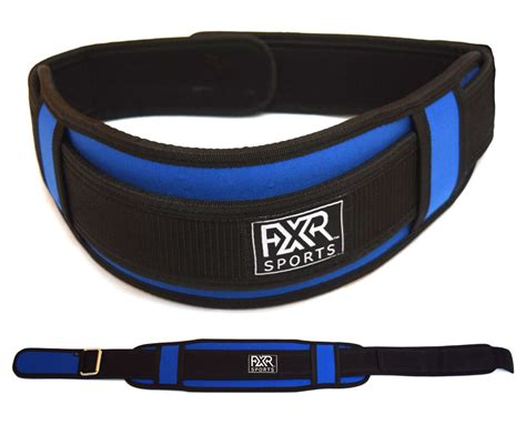 FXR SPORTS WEIGHT LIFTING BELT TRAINING BACK SUPPORT POWER ...