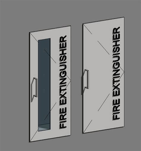 Recessed Extinguisher Cabinet Revit by Recessed Extinguisher Cabinet Revit Mf Cabinets