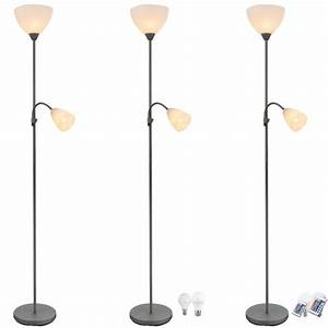 led floor lamp living room rgb dimmer uplight remote With 5 arm floor lamp with dimmer