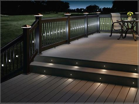 1000 ideas about deck lighting on deck posts