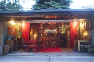 house plans with apartment attached east elmhurst turns garage into funky tiki bar