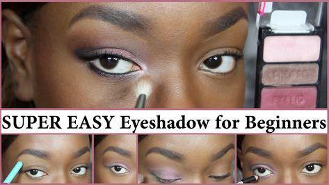 makeup tutorial  beginners african american faces  ideas beginner eyeshadow