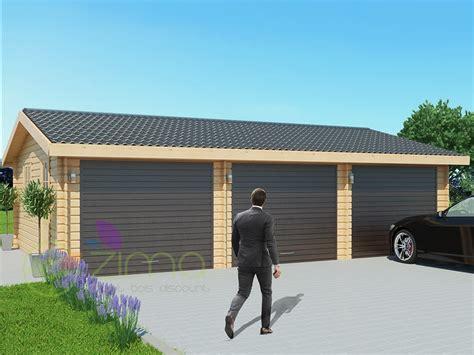 Garage Voiture by Garage En Bois 600x600 44mm 36m 178