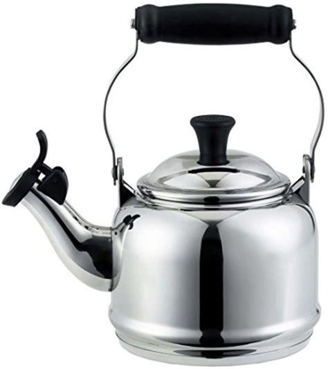 kettle tea stainless steel creuset le stove gas demi quart kettles induction amazon stovetop qt teakettle finish enamel compare pretty