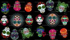 Girly Sugar Skull Design Sugar Skull Desktop Wallpaper Wallpapersafari