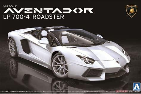 Lamborghini Aventador Lp700-4 Roadster (model Car) Images List