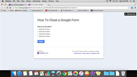 closing  google form mgsd  desk portal